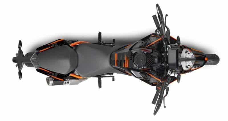 KTM Duke 125 Dekor, Aufkleber Kit 2017 - 2021