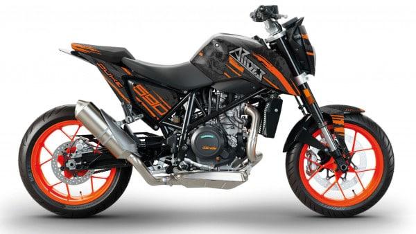 KTM Duke 690 R Dekor, Aufkleber Kit 2012 - 2020