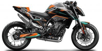 KTM Duke 790 Dekor, Aufkleber Kit 2018 - 2021