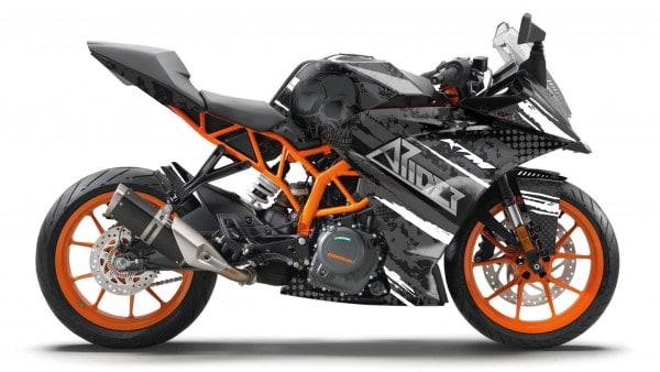 KTM RC 390 Dekor, Aufkleber Kit 2014 - 2020