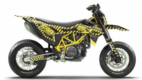 KTM 690 SMC-R Dekor, Aufkleber, Graphic, Sticker Kit 2019 - 2020